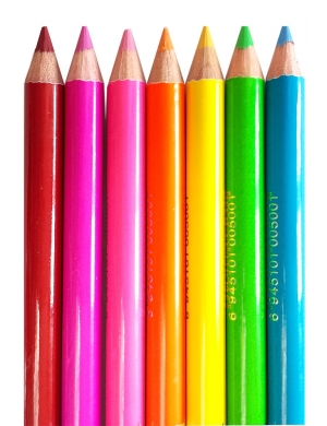 Saffron Neonowa kredka do oczu i ust - Neon Pencil