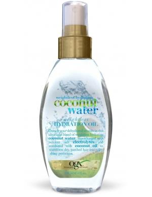 Ogx Nawilżająca mgiełka z wodą i olejkiem kokosowy Coconut Water