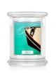 Kringle Candle Świeca zapachowa Medium 2 Wick Jar - Apple Chutney