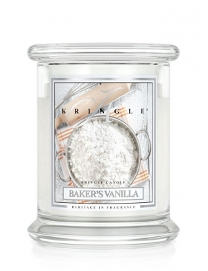 Kringle Candle Świeca zapachowa Medium 2 Wick Jar - Aqua