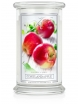 Kringle Candle Świeca zapachowa Larger 2 Wick Jar - Cortland Apple