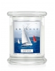 Kringle Candle Świeca zapachowa Medium 2 Wick Jar - Set Sail