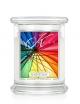 Kringle Candle Świeca zapachowa Medium 2 Wick Jar - Rainy Day