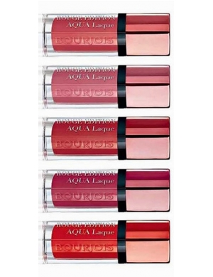 BOURJOIS Hybrydowa pomadka do ust Aqua Laque Lipstick