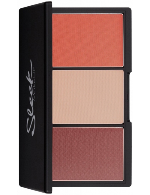 Sleek MakeUP Paleta róży do policzków Blush By 3 Santa Marina