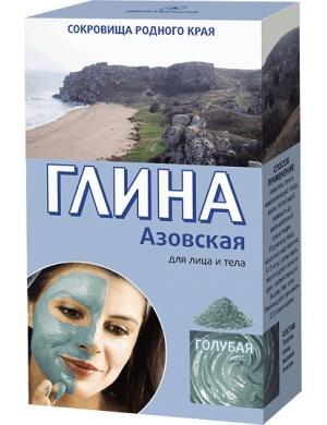Fitokosmetik Niebieska glinka - maseczka azowska
