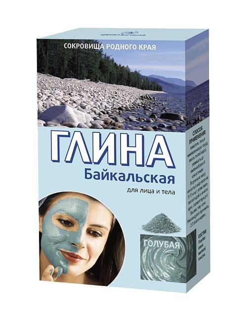 Fitokosmetik Odmładzająca błękitna glinka bajkalska do twarzy