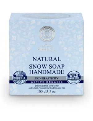 Natura Siberica Naturalne mydło śnieżne Handmade Snow Soap