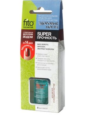 Fitokosmetik Odżywka do paznokci - Super Wytrzymałość