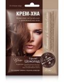 Fitokosmetik Henna do włosów z olejem łopianowym, Gorzka czekolada