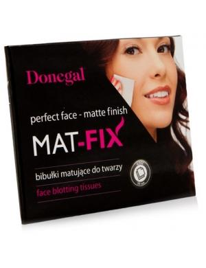 Donegal Bibułki matujące do twarzy Mat Fix