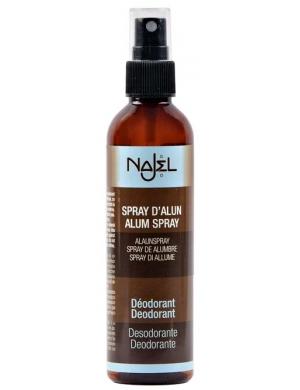 NAJEL Ałun w spray'u, Naturalny antyprespirant do ciała, stóp i dłoni