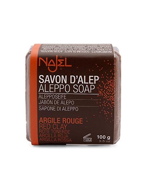 NAJEL Oczyszczające mydło z czerwoną glinką