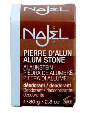 NAJEL Naturalny antyprespirant - Ałun potasowy 80g