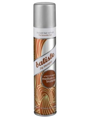 BATISTE Medium & Brunette Suchy szampon do włosów Dry Shampoo