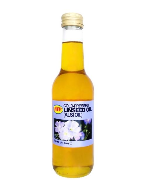 KTC Cold-Pressed Linseed Oil (Alsi Oil) - Olej lniany 250ml