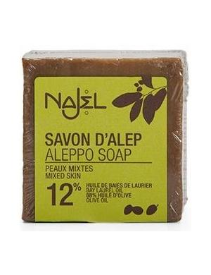NAJEL Mydło z Aleppo 12% oleju laurowego