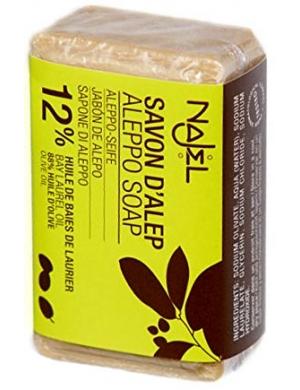 NAJEL Naturalne mydło z Aleppo 12% oleju laurowego