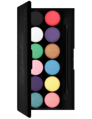 Sleek Makeup Paleta 12 cieni do powiek i-Divine Lagoon