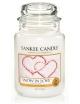 YANKEE CANDLE Świeca zapachowa - Snow in Love (średni słój)