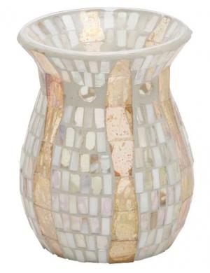 Yankee Candle Kominek do wosków zapachowych Gold Wave Mosaic