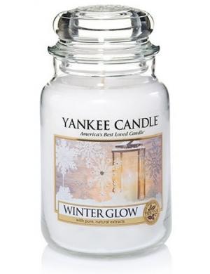 YANKEE CANDLE Świeca zapachowa - Winter Glow (duży słój)