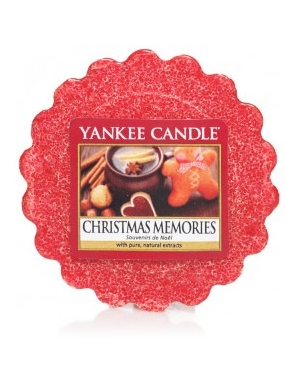 YANKEE CANDLE Wosk zapachowy Christmas Memories
