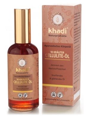 khadi Antycellulitowy olejek z 10 Ajurwedyjskich Ziół
