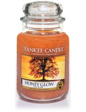 YANKEE CANDLE Świeca zapachowa - Honey Glow (duży słój)