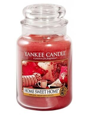 YANKEE CANDLE Świeca zapachowa - Home Sweet Home (duży słój)