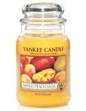 YANKEE CANDLE Świeca zapachowa - Mango Peach Salsa (duży słój)