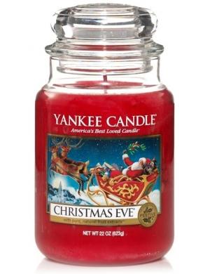 YANKEE CANDLE Świeca zapachowa - Christmas Eve (duży słój)