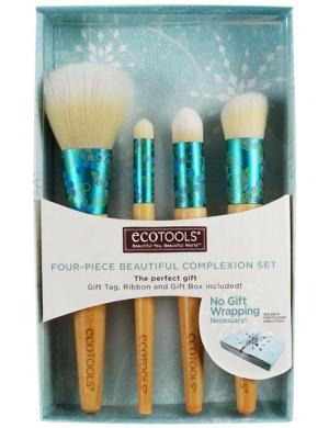 EcoTools Zestaw pędzli do makijażu Four-Piece Beautiful Complexion