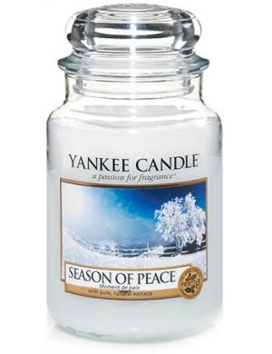 YANKEE CANDLE Świeca zapachowa - Season of Peace  (duży słój)