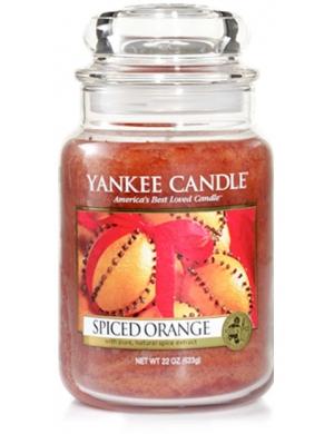 YANKEE CANDLE Świeca zapachowa - Spiced Orange (duży słój)