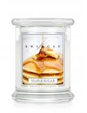 Kringle Candle Świeca zapachowa Medium 2 Wick Jar - Maple Sugar