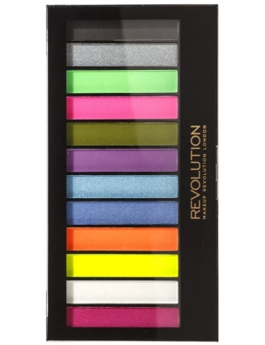 Makeup Revolution Paleta cieni do powiek Redemption Acid Brights