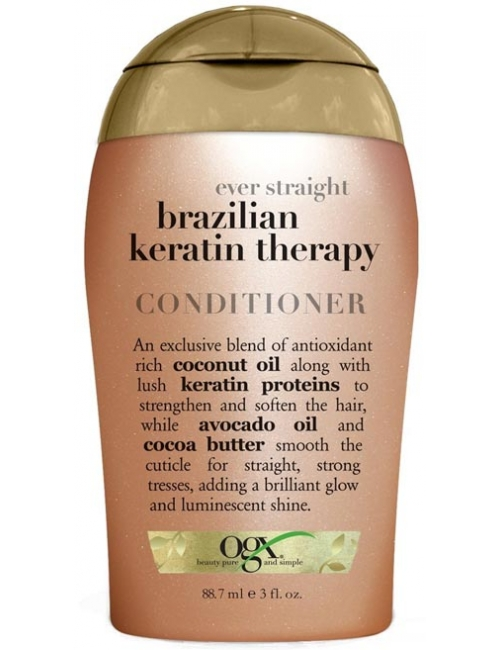 Ogx Wygładzająca odżywka do włosów z keratyną Brazilian Keratin