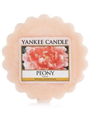 YANKEE CANDLE Wosk zapachowy Peony