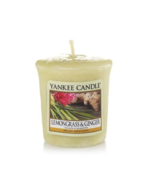 YANKEE CANDLE Świeca zapachowa Lemongrass & Ginger (sampler)