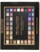 Makeup Revolution Awesome Palette 100 Paleta cieni do powiek Nudes & Smoked
