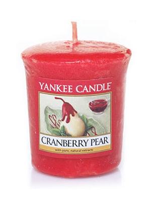YANKEE CANDLE Świeca zapachowa Cranberry Pear (sampler)