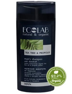 ECOLAB Man, Propolisowy szampon przeciwłupieżowy dla mężczyzn