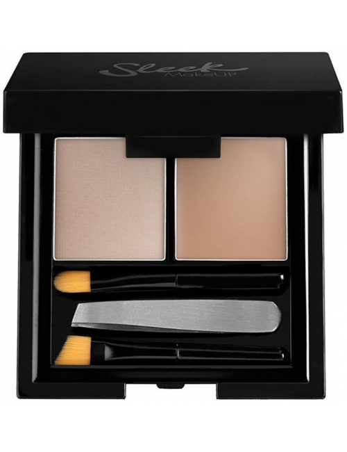Sleek MakeUP Zestaw do stylizacji brwi Brow Kit (cienie + wosk)