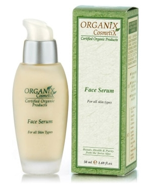 Organix Cosmetix organiczne serum ochronne do twarzy