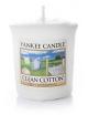 YANKEE CANDLE Świeca zapachowa Clean Cotton (sampler)