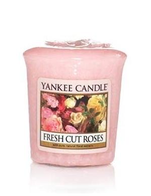 YANKEE CANDLE Świeca zapachowa Fresh Cut Roses (sampler)