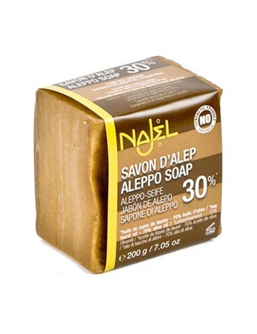 NAJEL Syryjskie mydło z Aleppo 30% oleju laurowego