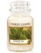 YANKEE CANDLE Świeca zapachowa - White Tea (duży słój)