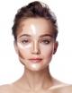 Technic Paleta kremowych kamuflaży do konturowania twarzy Contour Fix
